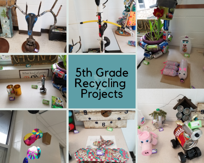 5th Grade Recycling Projects