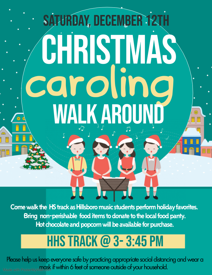 Christmas Caroling Walk Around