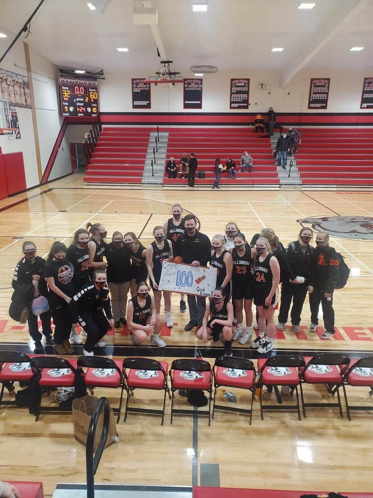 Coach Egan's 100th win