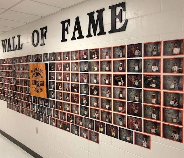 Elementary School Wall of Fame
