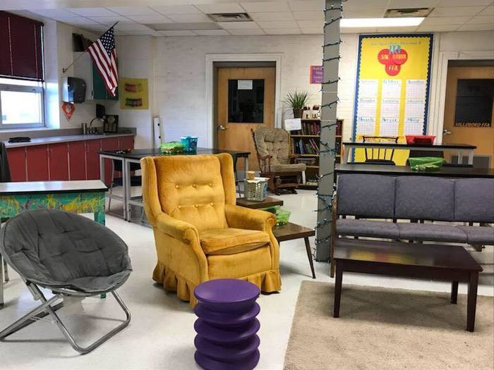 Ag classroom flexible seating