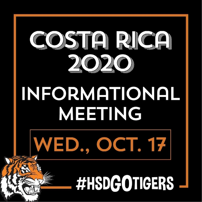 Costa Rica Informational Meeting