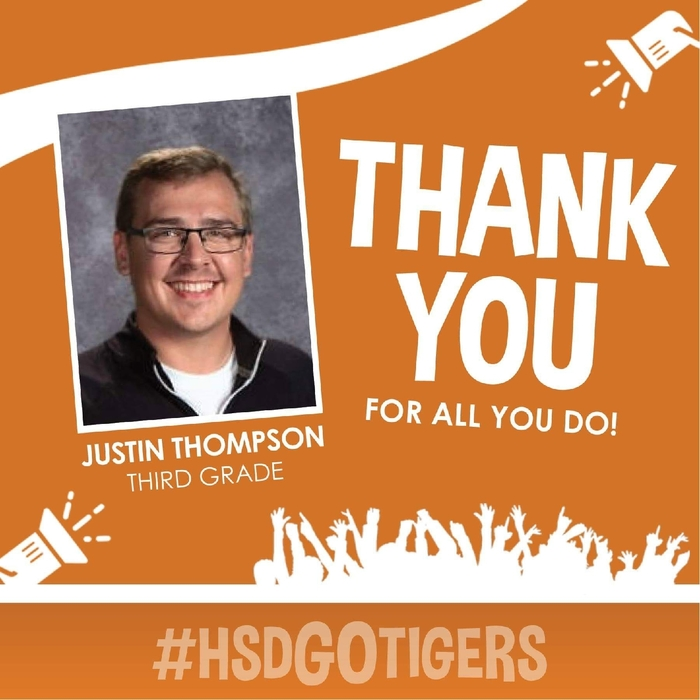 Staff Feature--Justin Thompson