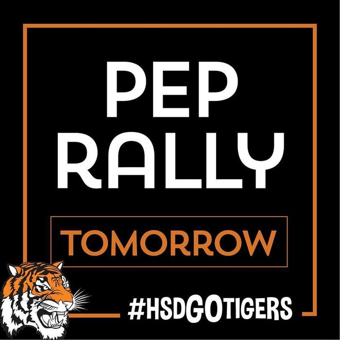October 25th Pep Rally