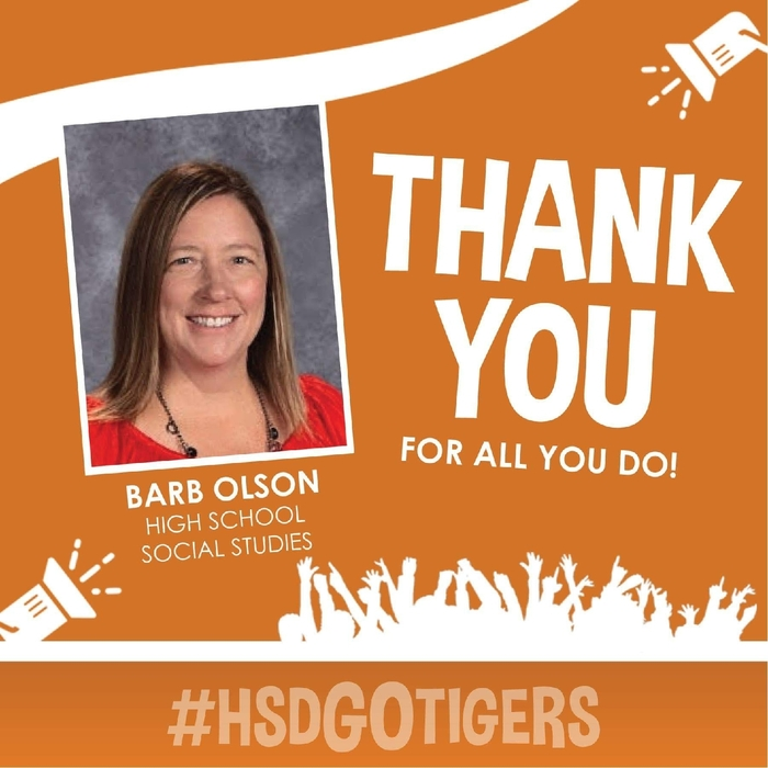 Staff Feature--Barb Olson
