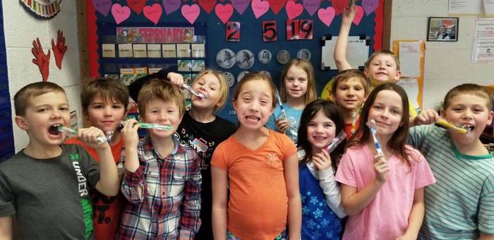 Healthy Smiles in 2nd Grade