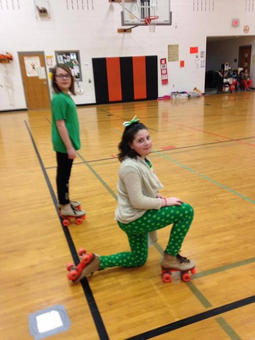 Mrs. Fisher's fifth graders love roller skating