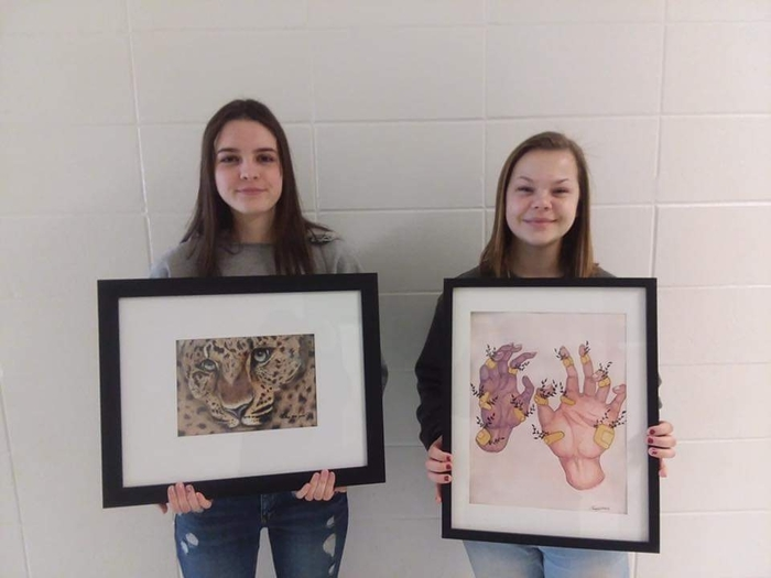 🎨 Art Spotlight McKenzie and Emma