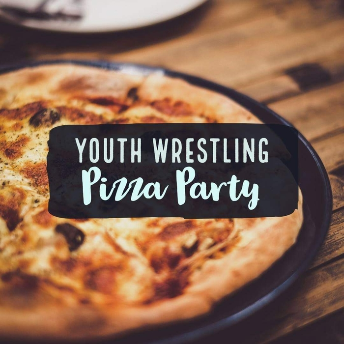Youth wrestling Pizza party