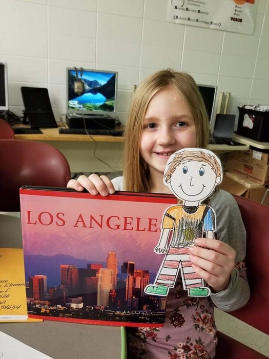 Flat Stanley is back from California