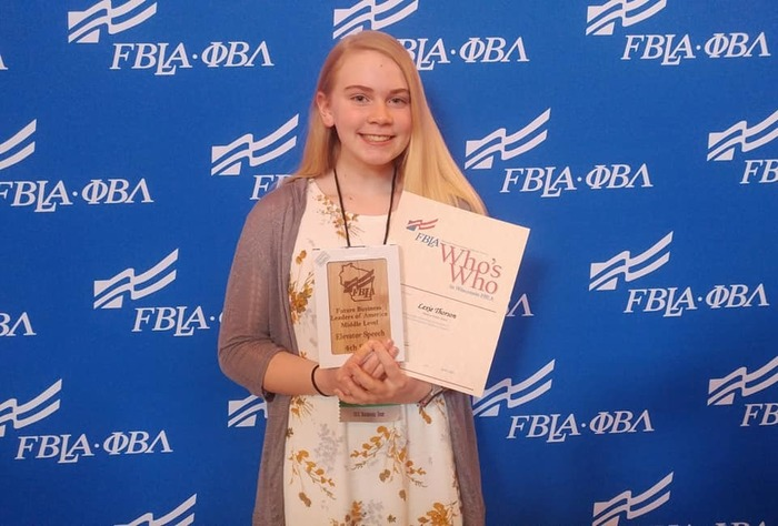 L. Thorson-National FBLA Qualifier