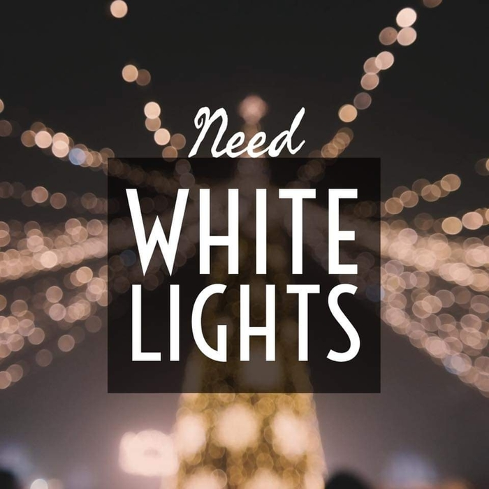 Looking for white lights for Prom decorating