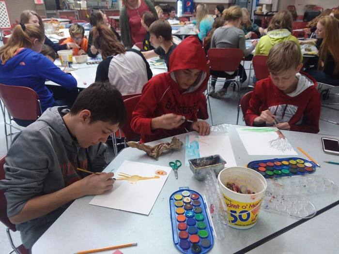 7th Graders attend Visual Art Festival in Necedah