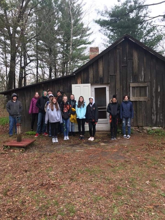 Environmental Science visits the home of Aldo Leopold