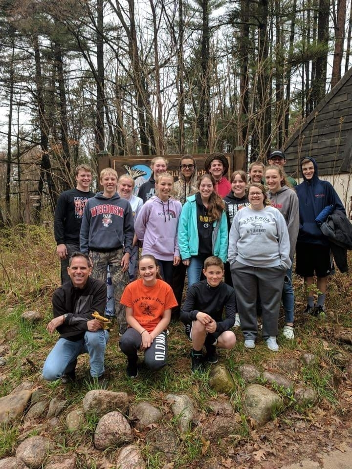 The 8th grade field trip to Central Wisconsin Environmental Station was a blast!
