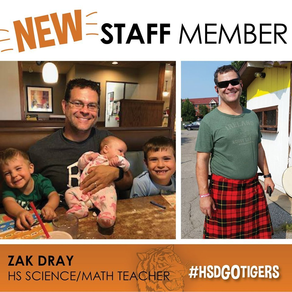 New Staff Profile-Mr. Dray