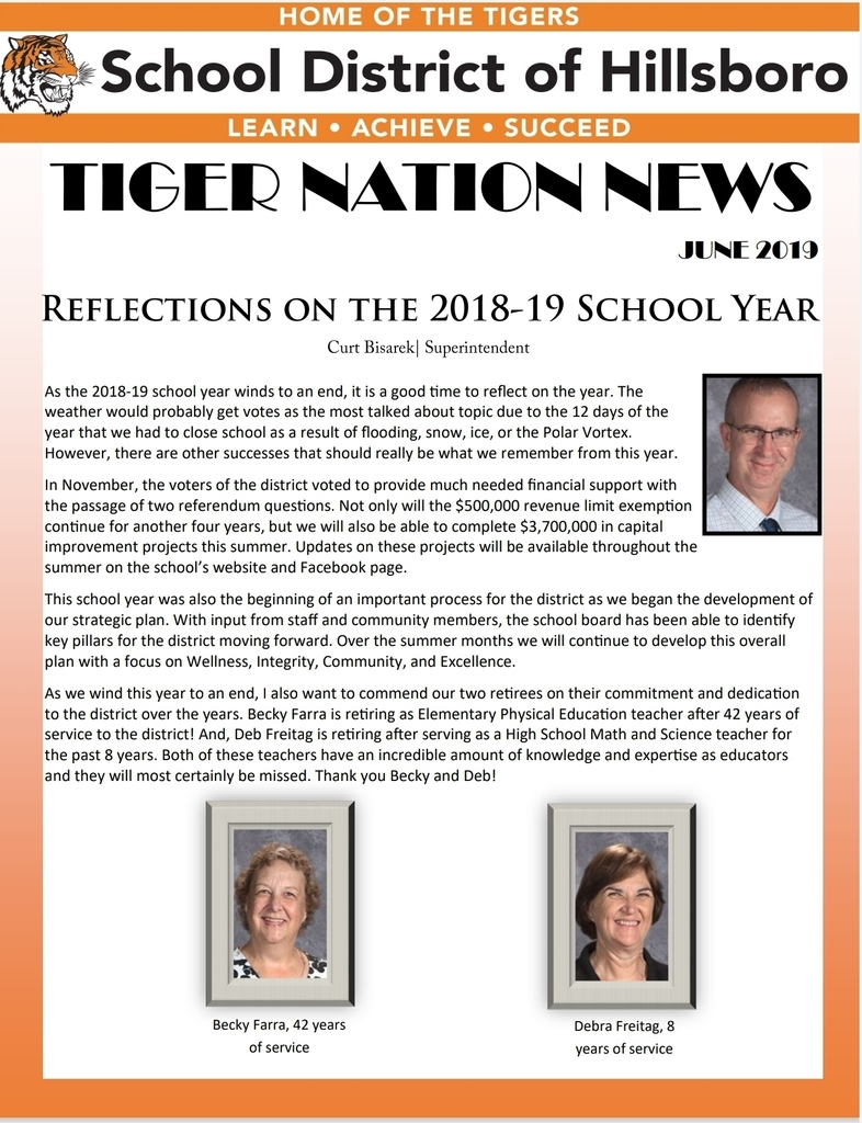 June 2019 Tiger Nation News