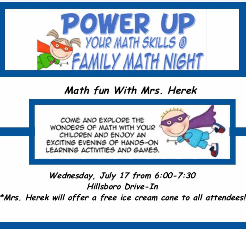 Math Skills Family Night