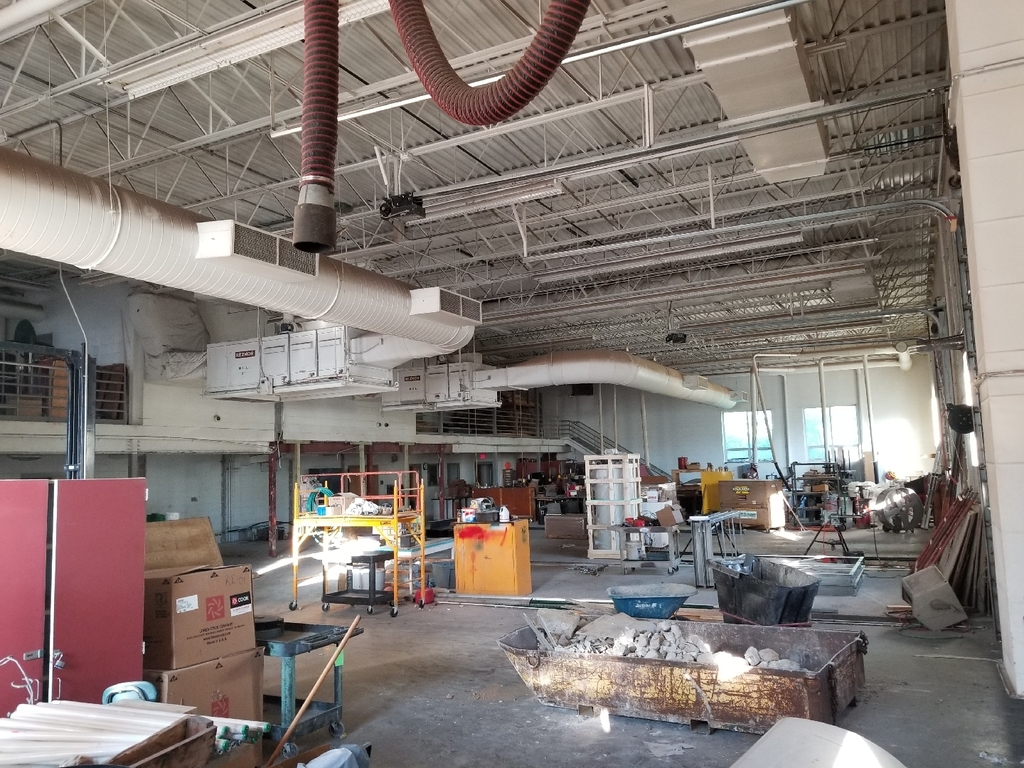 Tech Ed renovation