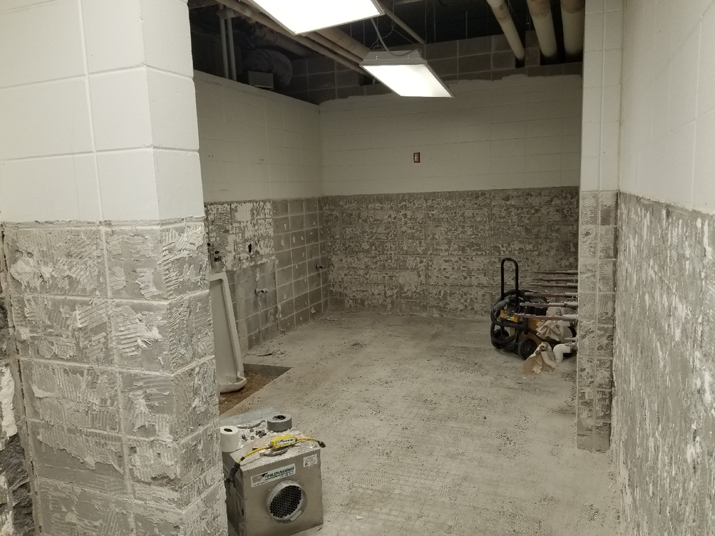 Middle/High School Restroom renovation
