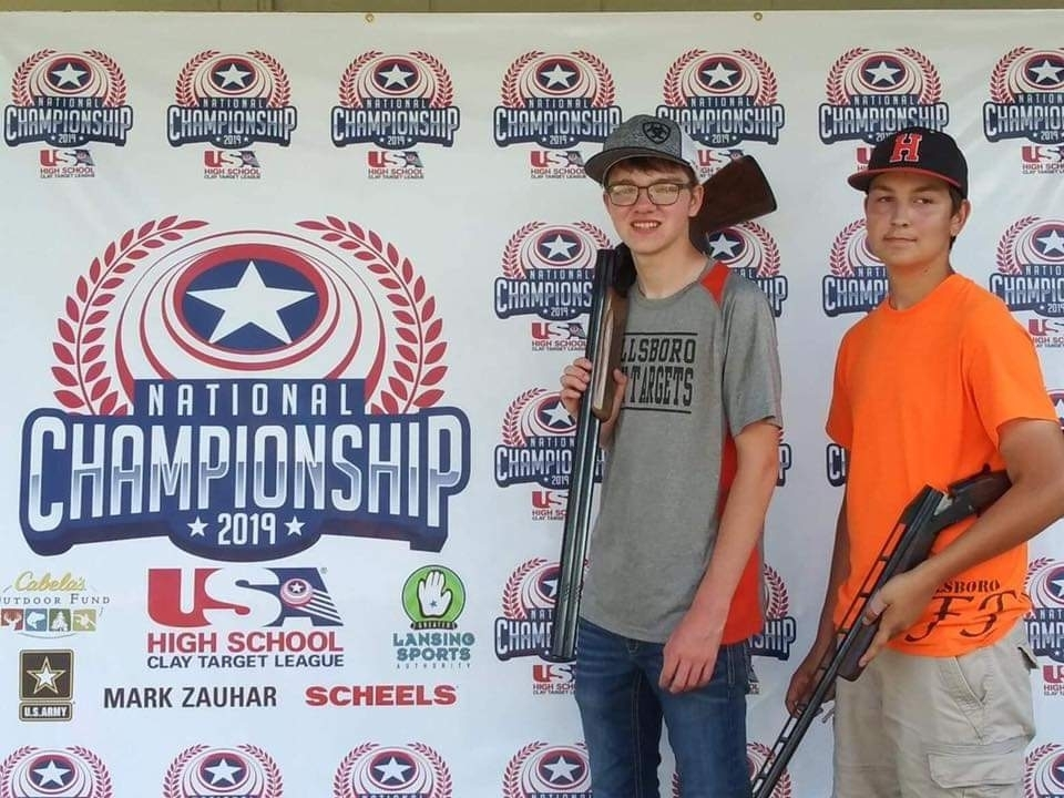 National High School Clay Target League in Mason, Michigan!