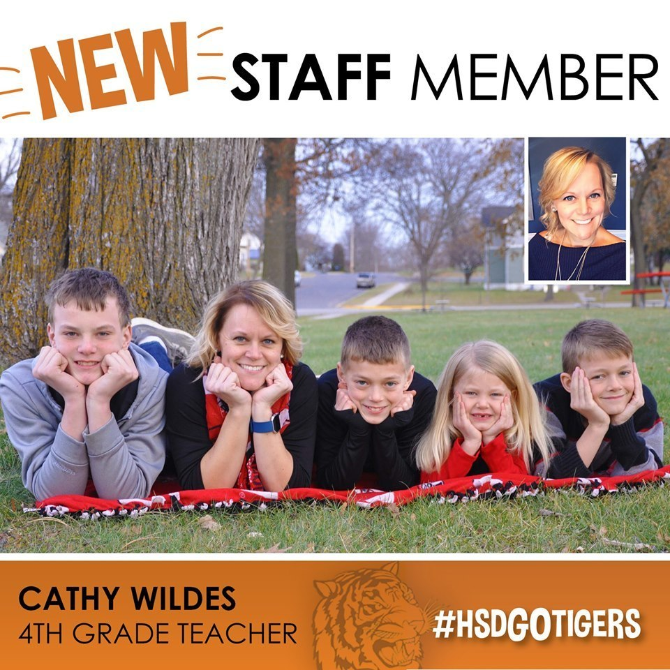 New Staff Feature--Cathy Wildes