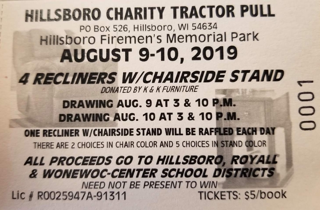 Charity Tractor Pull
