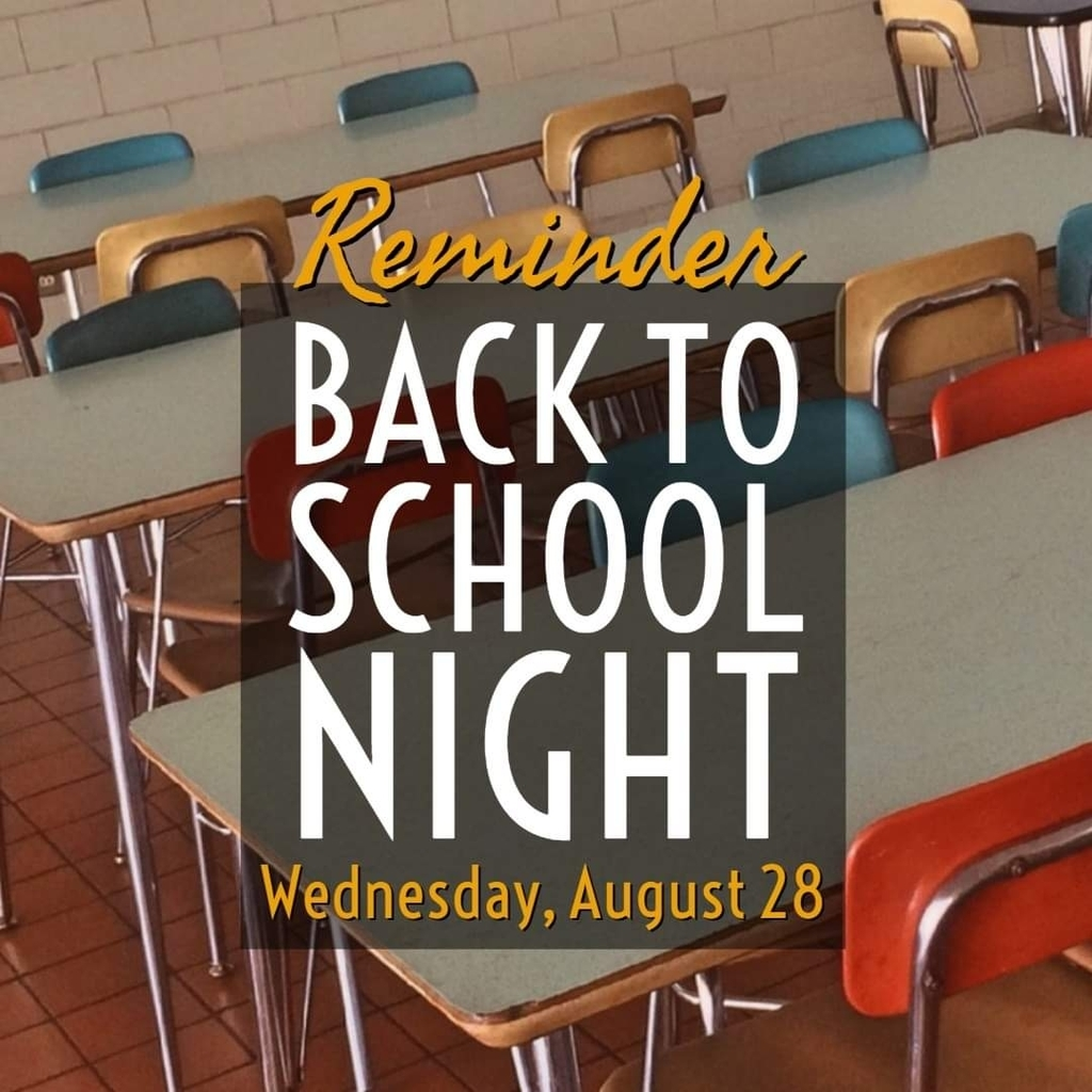 2019 Back to School Night