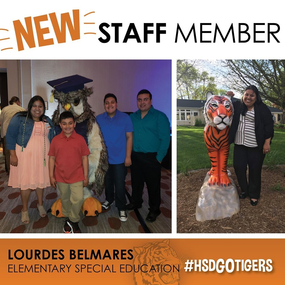 New Staff Feature-Lourdes Belmares