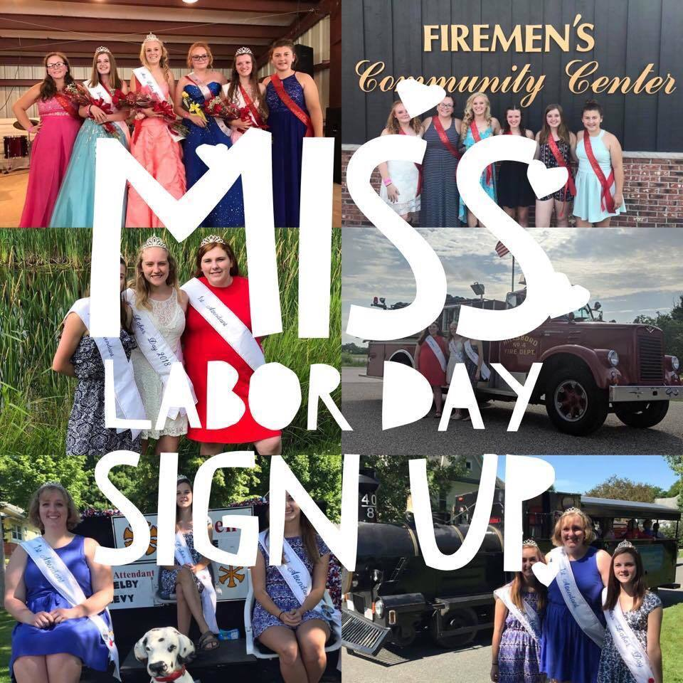 Miss Labor Day Sign-up