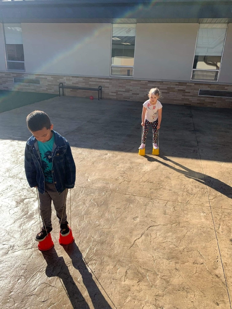 Hillsboro Early Childhood Tigers love spending time in their newly renovated courtyard