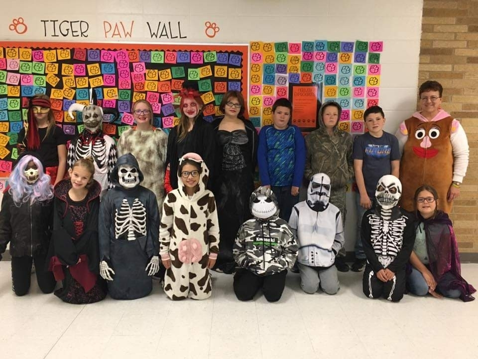 Happy Halloween from the fifth graders