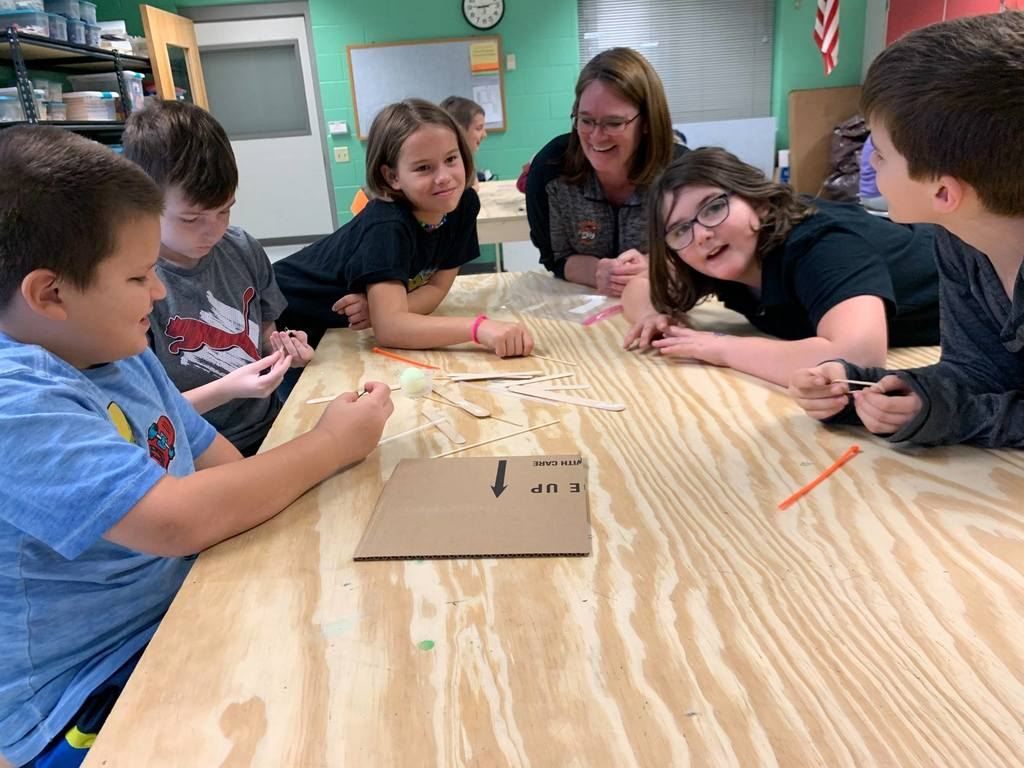 Fourth-grade catapult planning