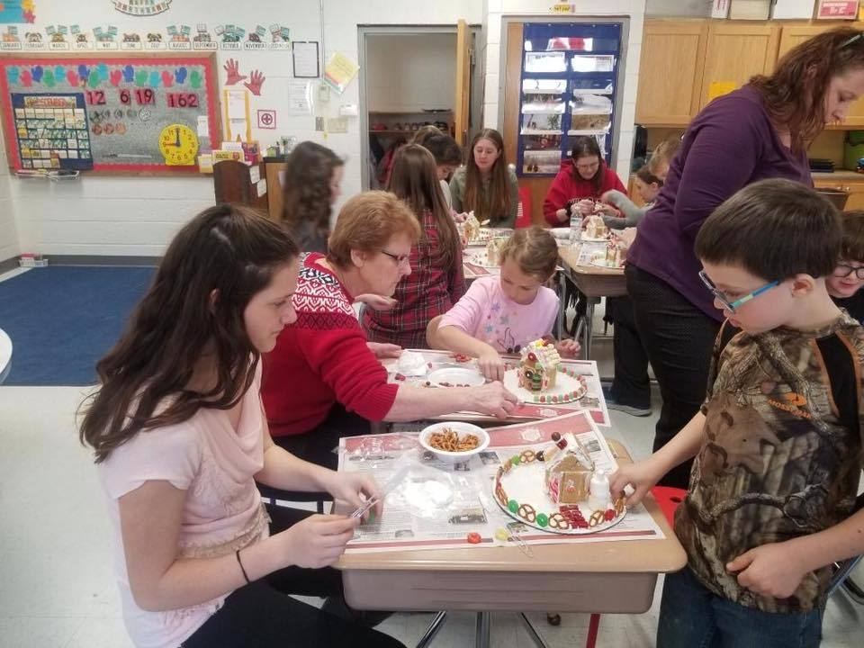 Gingerbread Houses in grade 2