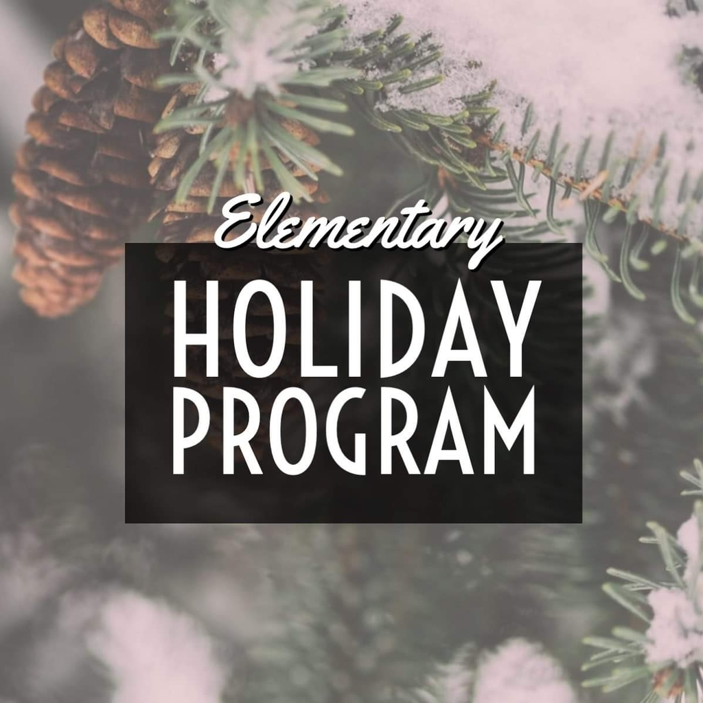 Elementary Holiday Program