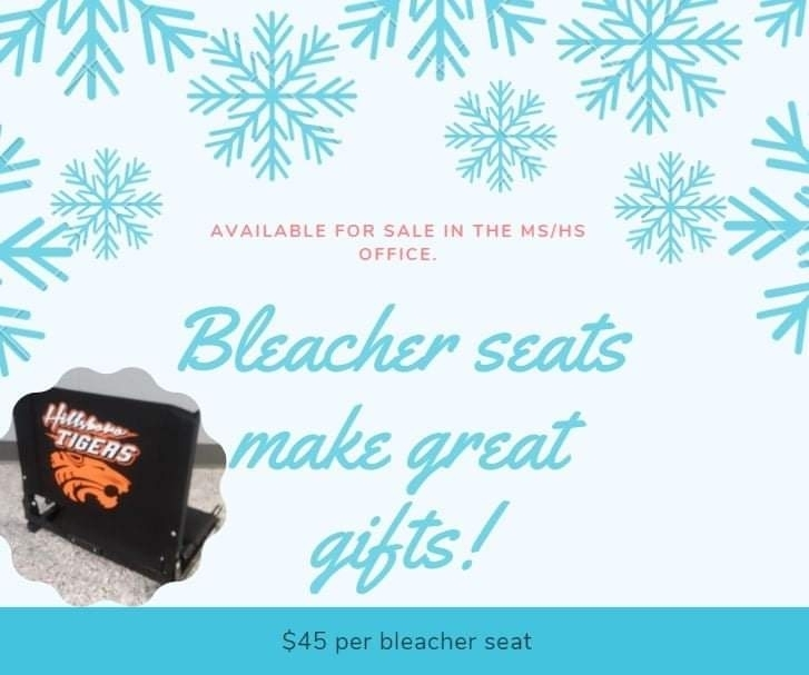Bleacher Seats available