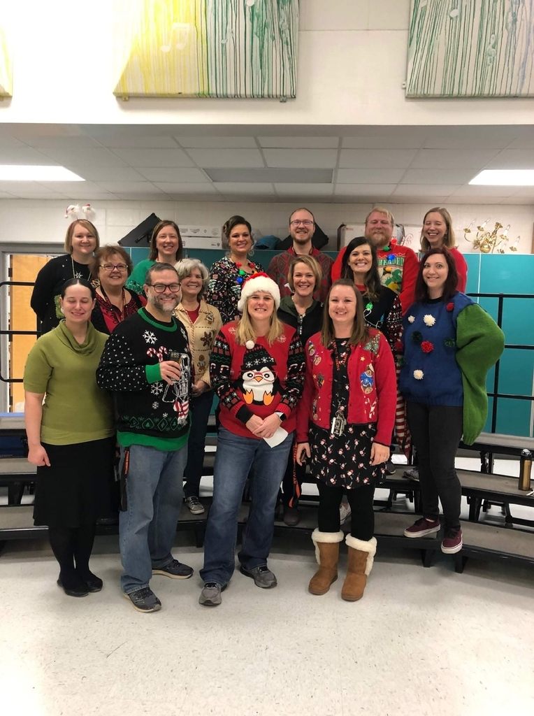 Happy National Ugly Sweater Day from the MS/HS staff