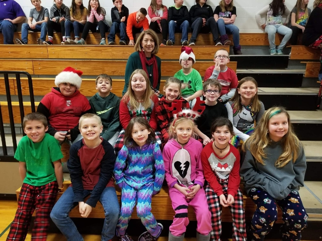 Christmas Sing-a-long at the Elementary School