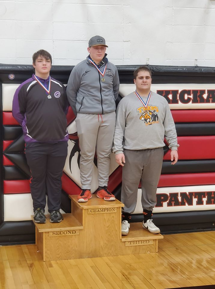 Kenton Dvorak took 3rd