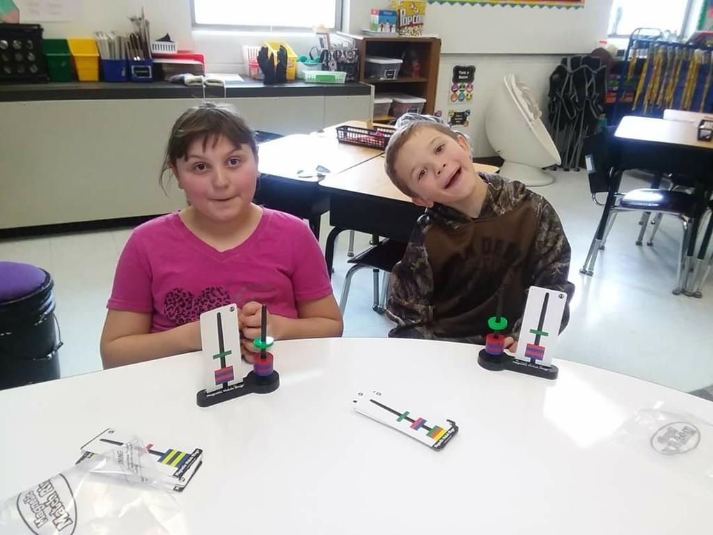 Mrs. Board's second graders have been learning all about magnets