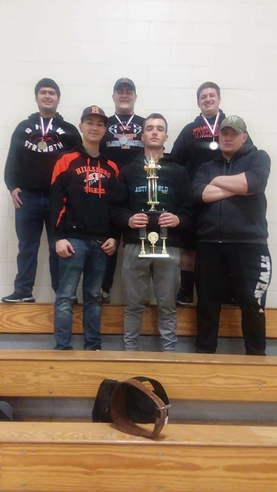Hillsboro Boys Powerlifting team