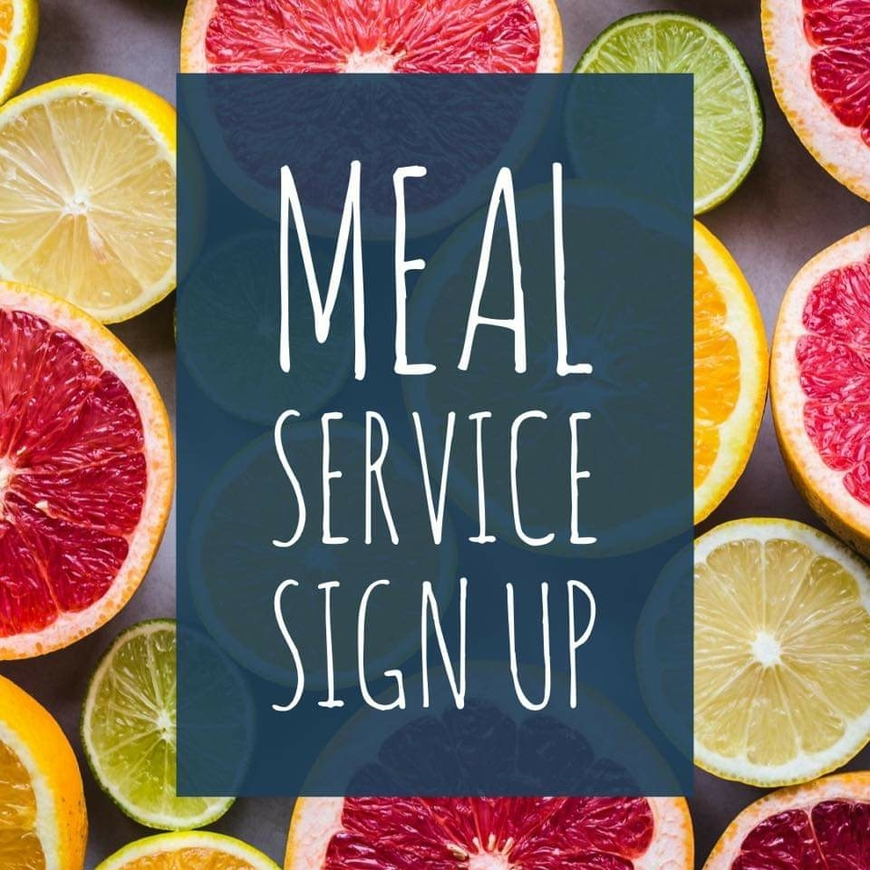 Meal Service Sign up