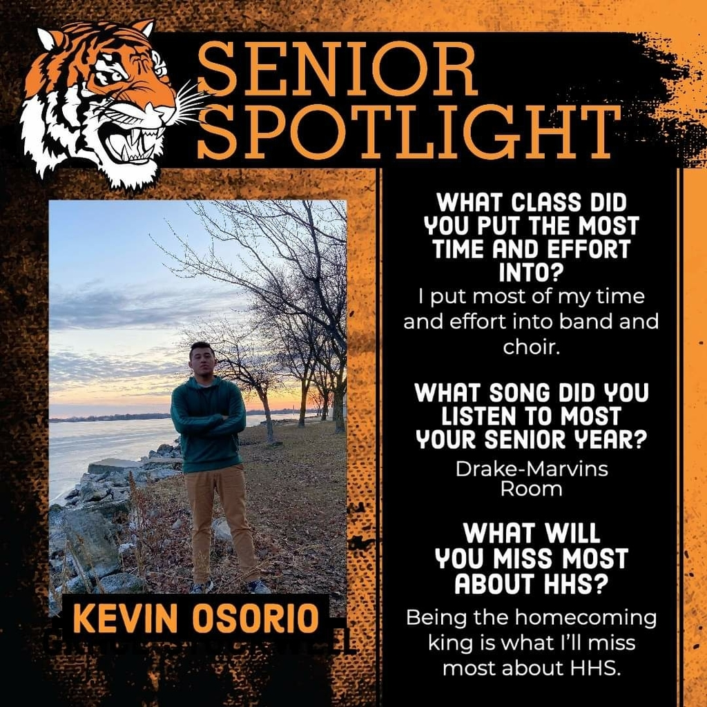 Senior Spotlight - Kevin Osorio