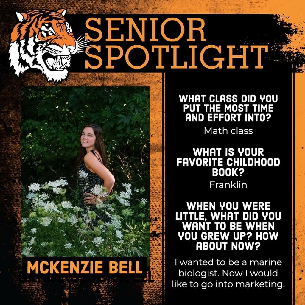 Senior Spotlight - McKenzie Bell
