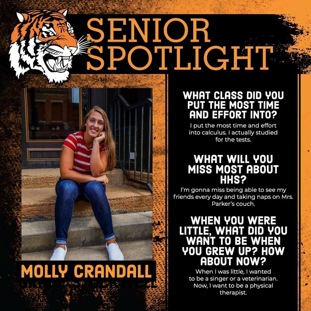 Senior Spotlight - Molly Crandall