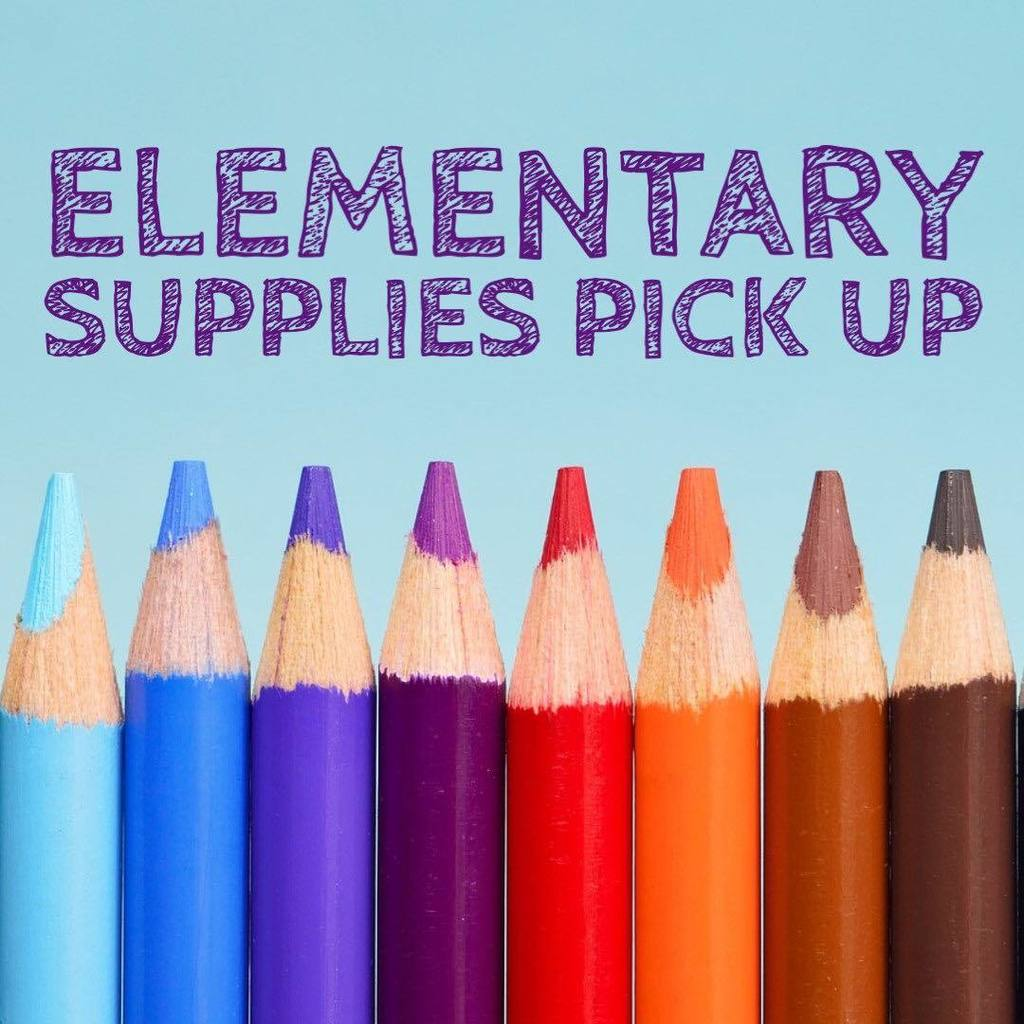 Elementary Supply Pick-up