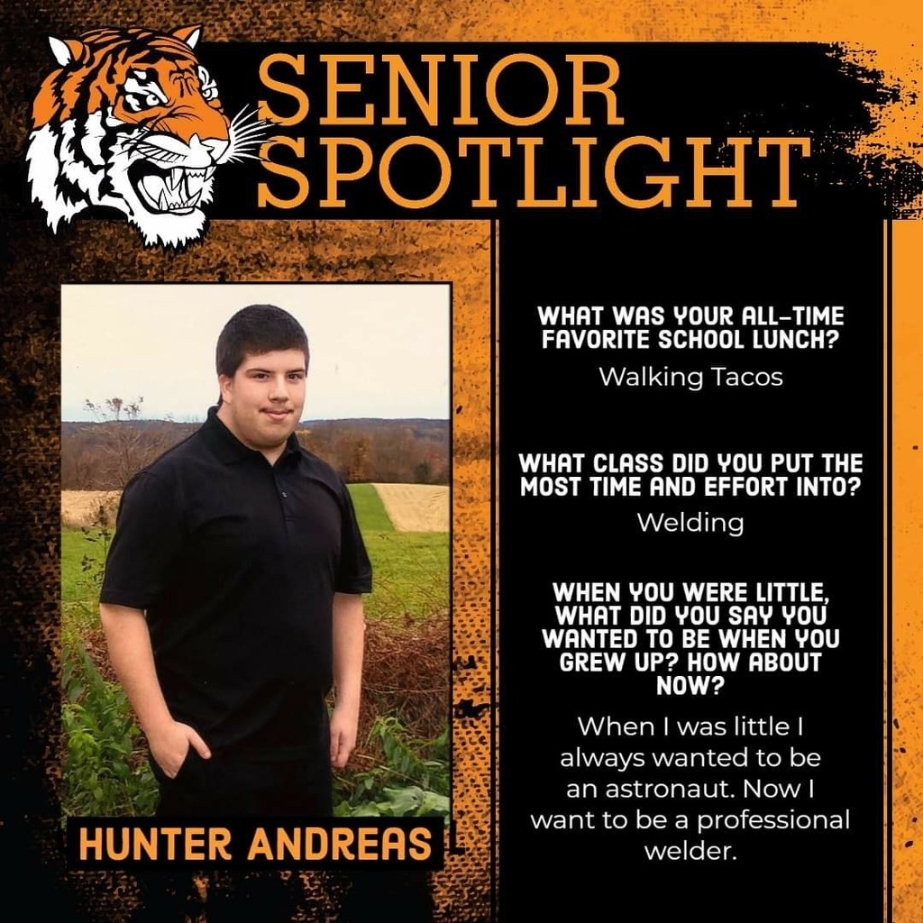 Senior Spotlight - Hunter Andreas