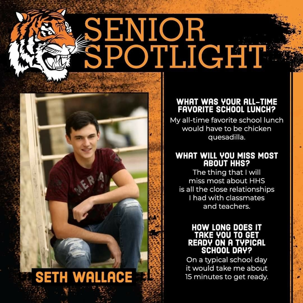 Senior Spotlight - Seth Wallace