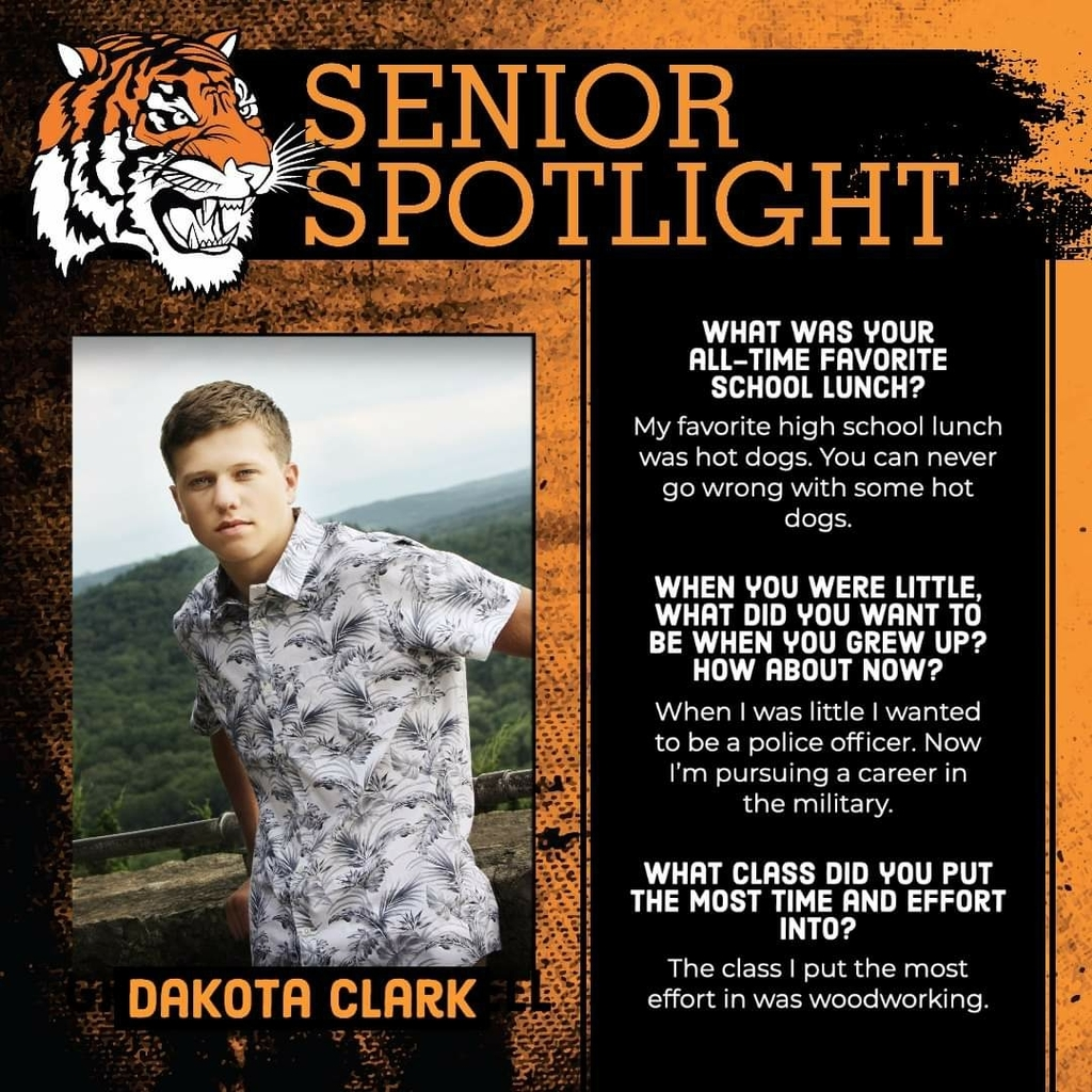 Senior Spotlight - Dakota Clark