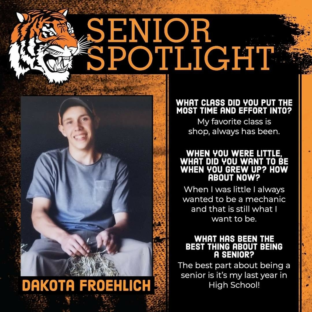 Senior Spotlight - Dakota Froehlich